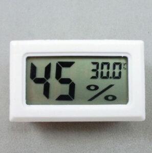 Thermometer Hygrometer pengukur suhu dan kelembaban Ruangan