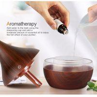 Ultrasonic Air Aroma Terapi pengharum dan Pelembab udara Diffuser 300ml terbaik