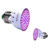Lampu LED Grow Light Full Specturm LED Hidroponik Cahaya Fitolampy Untuk Benih Sayuran Rumah Kaca Tanaman Hidroponik