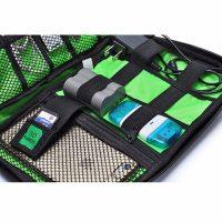 Travel Pouch Untuk Elektronik Handphone gadget bAgus Berkualitas Tinggi